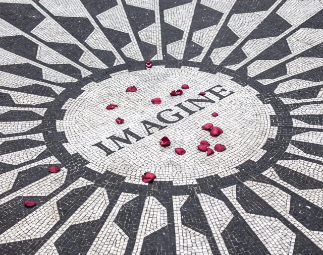 imagine inscription symbolizing visualization