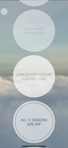 HypnoCloud Law of attraction App 14
