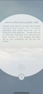 HypnoCloud Law of attraction App 9